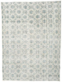 Colored Vintage Rug 215X284 Authentic  Modern Handknotted Light Grey/Beige (Wool, Turkey)