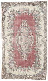 Colored Vintage Rug 182X315 Authentic  Modern Handknotted Light Grey/Light Pink (Wool, Turkey)
