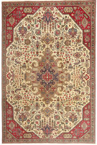 Tabriz Patina Rug 190X280 Authentic Oriental Handknotted Light Brown/Beige (Wool, Persia/Iran)
