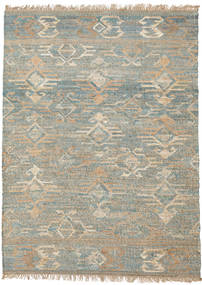 Kalahari Jute Rug 170X240 Authentic  Modern Handwoven Light Grey ( India)
