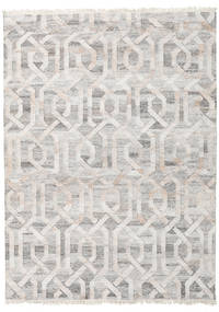 Trinny - Brown/Nature Rug 170X240 Authentic  Modern Handwoven Light Grey ( India)