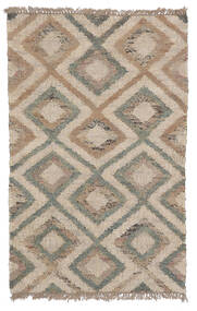 Patagonia Jute Rug 100X160 Authentic Modern Handwoven Light Grey/Beige ( India)