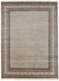 Mir Indo Rug 175X245 Authentic  Oriental Handknotted Light Grey (Wool, India)