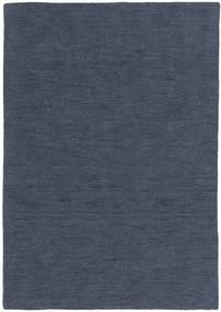 Kilim Loom - Denim Blue Rug 140X200 Authentic  Modern Handwoven Blue (Wool, India)
