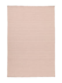 Kilim Loom - Misty Pink Rug 160X230 Authentic  Modern Handwoven Light Pink (Wool, India)