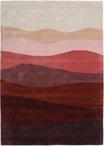 Feeling Handtufted - Wine Rug 140X200 Modern Dark Red/Light Grey (Wool, India)
