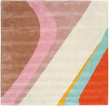Dynamic Handtufted - Pink Rug 250X250 Modern Square Beige/Light Brown Large (Wool, India)