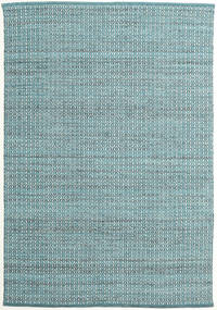 Alva - Turquoise/White Rug 160X230 Authentic  Modern Handwoven Light Blue/Dark Turquoise   (Wool, India)