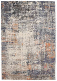 Favia Rug 160X230 Modern Light Grey/Dark Grey ( Turkey)