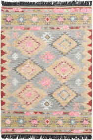 Tyra Rug 140X200 Authentic  Modern Handwoven Light Grey/Beige (Wool, India)