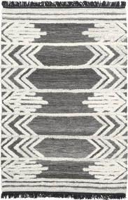 Arrow Rug 120X180 Authentic  Modern Handwoven Dark Grey/Beige/Light Grey (Wool, India)