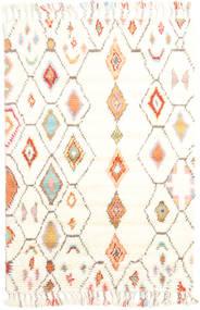 Hulda Rug 120X180 Authentic  Modern Handknotted Beige/White/Creme (Wool, India)