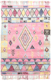 Fanny Rug 120X180 Authentic  Modern Handknotted Light Pink/Light Grey/Beige (Wool, India)