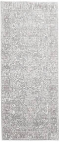 Maharani - Grey Rug 80X200 Modern Hallway Runner  Light Grey/White/Creme ( Turkey)