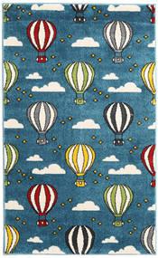 Balloons Rug 100X160 Modern Dark Blue/Blue ( Turkey)