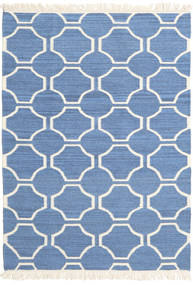 London - Blue/Off White Rug 160X230 Authentic  Modern Handwoven Blue/Beige (Wool, India)