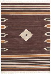 Tribal - Brown Rug 160X230 Authentic  Modern Handwoven Dark Brown/Dark Red (Wool, India)