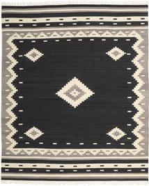 Tribal - Black Rug 250X300 Authentic  Modern Handwoven Black/Light Grey Large (Wool, India)