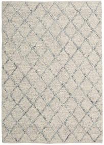Rut - Silver/Grey Melange Rug 160X230 Authentic  Modern Handwoven Light Grey/Dark Beige (Wool, India)