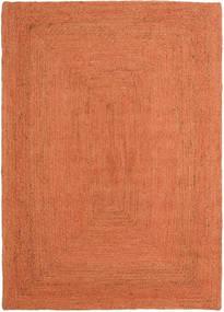 Frida Color - Orange Rug 160X230 Authentic  Modern Handwoven Orange/Crimson Red ( India)