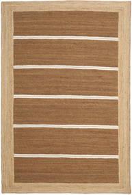 Outdoor Rug Frida Stripe - Brown Rug 200X300 Authentic  Modern Handwoven Brown/Dark Beige (Jute Rug India)