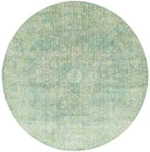 Maharani - Green Rug Ø 200 Modern Round Pastel Green ( Turkey)