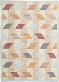 Flakes Jute Rug 200X300 Authentic  Modern Handwoven Beige/Light Grey ( India)