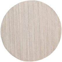 Outdoor Rug Petra - Beige_Mix Rug Ø 200 Authentic  Modern Handwoven Round Light Grey/White/Creme ( India)