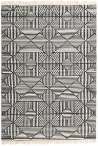 Mauri Rug 160X230 Authentic  Modern Handwoven Dark Grey/Light Grey/Dark Beige (Wool, India)