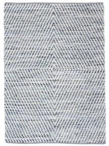 Hilda - Denim/White Rug 140X200 Authentic  Modern Handwoven Beige/Light Blue (Cotton, India)