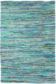 Ronja - Green Mix Rug 200X300 Authentic  Modern Handwoven Turquoise Blue/Light Blue (Cotton, India)
