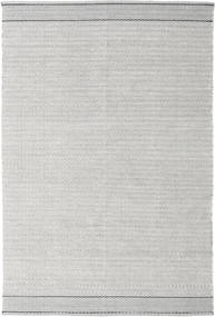 Norma - Black Rug 160X230 Authentic  Modern Handwoven Light Grey (Cotton, India)