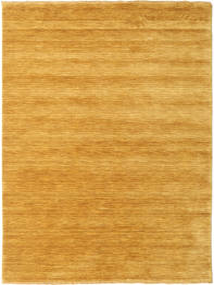 Handloom Fringes - Yellow Rug 160X230 Modern Yellow/Light Brown (Wool, India)