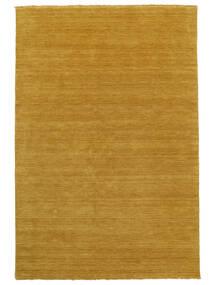 Handloom Fringes - Yellow Rug 200X300 Modern Yellow/Light Brown (Wool, India)
