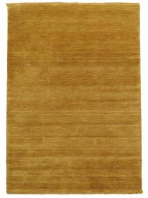 Handloom Fringes - Yellow Rug 140X200 Modern Light Brown/Yellow (Wool, India)
