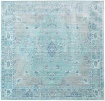Maharani - Blue Rug 200X200 Modern Square Light Blue/Turquoise Blue ( Turkey)