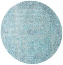 Maharani - Blue Rug Ø 150 Modern Round Light Blue/Turquoise Blue ( Turkey)