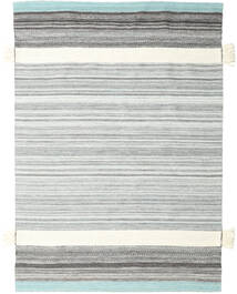 Fenix - Turquoise Rug 170X240 Authentic  Modern Handwoven White/Creme/Light Grey (Wool, India)