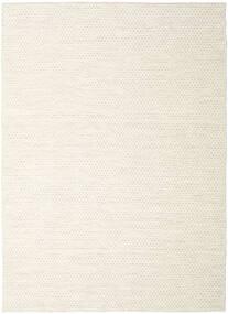 Kilim Honey Comb - Beige Rug 290X390 Authentic  Modern Handwoven Beige/White/Creme Large (Wool, India)