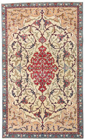 Najafabad Patina Rug 140X236 Authentic Oriental Handknotted Beige/Dark Brown (Wool, Persia/Iran)
