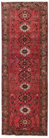 Hamadan Patina Rug 108X318 Authentic Oriental Handknotted Hallway Runner Dark Red/Crimson Red (Wool, Persia/Iran)