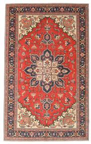 Heriz Patina Rug 164X265 Authentic Oriental Handknotted Dark Grey/Rust Red (Wool, Persia/Iran)