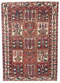 Bakhtiari Patina Rug 110X152 Authentic Oriental Handknotted Dark Red/Dark Brown (Wool, Persia/Iran)