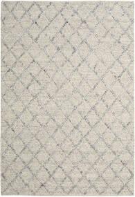 Rut - Silver/Grey Melange Rug 250X350 Authentic  Modern Handwoven Light Grey/Dark Beige Large (Wool, India)