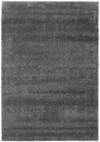 Shaggy Cosy Everyday - Dark Grey Rug 100X160 Modern Dark Grey/Dark Brown ( Turkey)