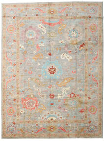 Afghan Exclusive Rug 267X358 Authentic  Modern Handknotted Light Grey/Beige Large (Wool, Afghanistan)