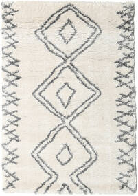 Berber Shaggy Massin Rug 120X170 Modern Beige/Light Grey/Dark Beige ( Turkey)