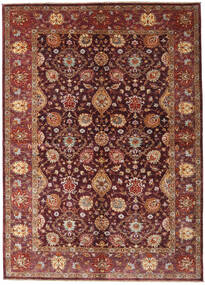 Ziegler Ariana Rug 173X242 Authentic  Oriental Handknotted Dark Red/Brown (Wool, Afghanistan)