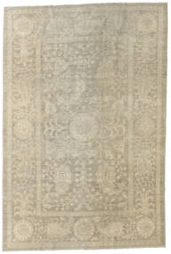 Ziegler Ariana Rug 183X271 Authentic  Oriental Handknotted Light Grey/Olive Green/Dark Beige (Wool, Afghanistan)