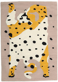The Spotty Cat - Beige/Multi Rug 100X160 Modern Light Grey/Beige (Wool, India)